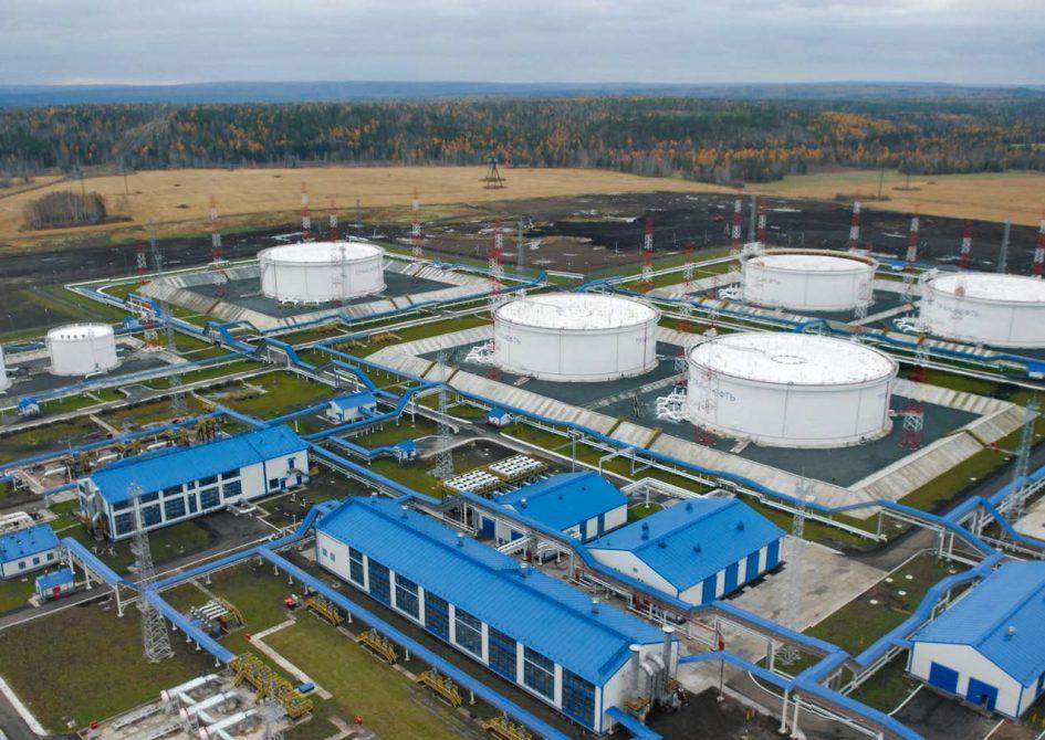 Подпорная нефтеперекачивающая станция